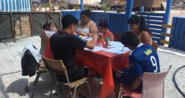 Breve crónica: Talleres para niños y mujeres en la comunidad de Los Patos, Tocopilla